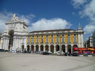 Lisbonne la place du commerce - Office du tourisme lisbonne ...